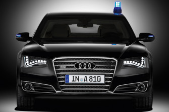 Der Audi A8 Security 2016 Ed.