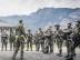 Walenstadt, St. Gallen, Schweiz, 20. September 2013 - Schweizer Armee in Walenstadt, Besuch einer Spezialeinheit KSK, Grenadiere.
