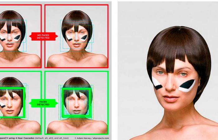 Camouflage gegen die Gesichtserkennung